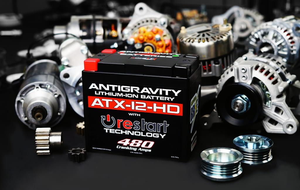 Carwood Brise motorsport range including battery, starter and alternator